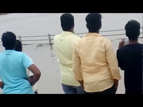 Boat Accident Live Video at Pavitra Sangamam, Aarthi Ghat Ibrahimpatnam Vijayawada Live Video