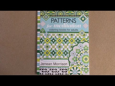 Patterns for meditation coloring books for adults jenean Coloring books for adults youtube