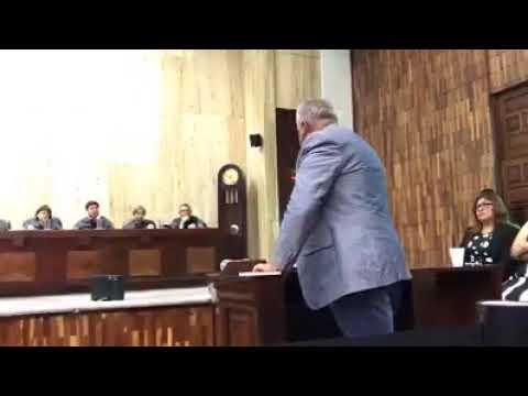 Alcalde Municipal de Nueva Santa Rosa Enrique Arredondo