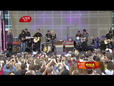 HDTV Carrie Underwood Temporary Home Good Morning America