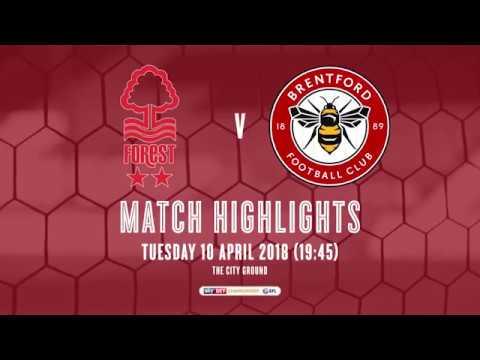 2017/18 HIGHLIGHTS: Nottingham Forest 0-1 Brentford