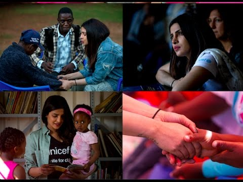 Priyanka Chopra  UNICEF visit to Zimbabwe and South Africa
