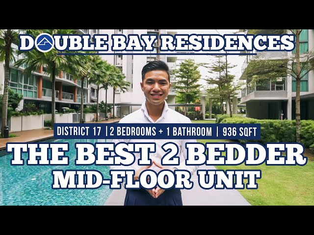 Double Bay Residences, 936sqft, 2-Bedder, Singapore Condo Property on Sale with Home Quarters SG