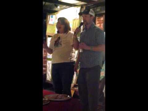 Bob sings @Riverday School auction