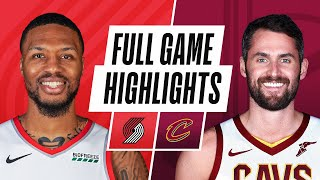 Download TRAIL BLAZERS at CAVALIERS   FULL GAME HIGHLIGHTS   May 5, 2021