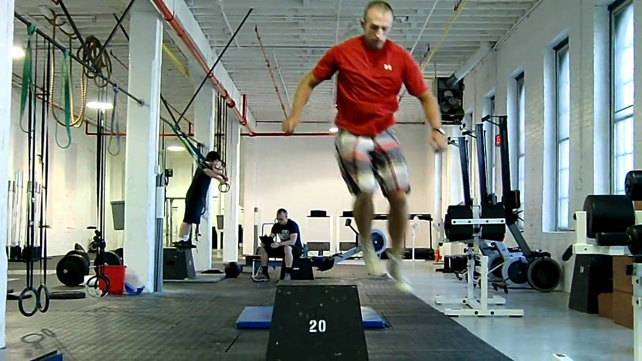 lateral box jump