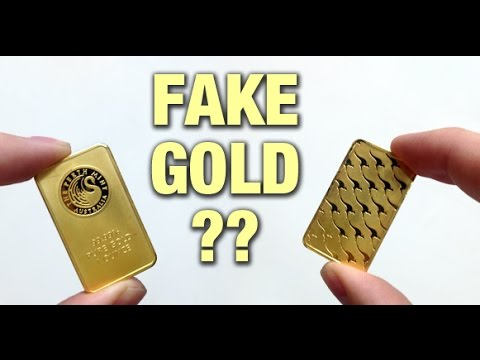 Detecting Fake Gold Perth Mint bars