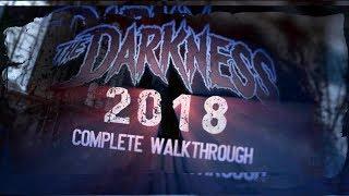 New The Darkness (Full Maze) Haunted House Walk Thru 2018
