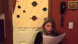 Quinn's 3rd Grade Solar System Presentation