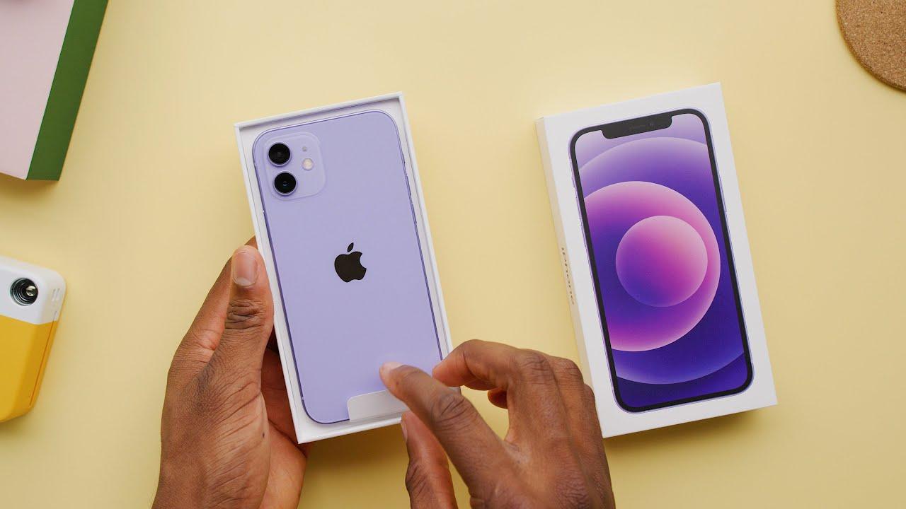 The New Purple iPhone 12!