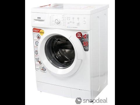 IFB washing machine demo tamil தமிழில்