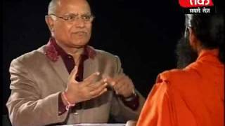 Baba Ramdevs Ulti Baat with Prabhu Chawla. Part 1 of 4