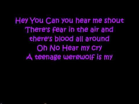 Werewolf Boyfriend - Fright Ranger lyrics