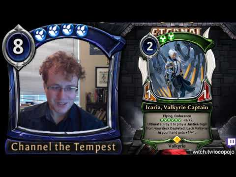 Eternal Spoiler Breakdown - Icaria, Valkyrie Captain and Bury the Past