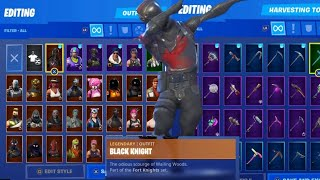 My Fortnite Locker! 110+ Skins 80 Pickaxes!