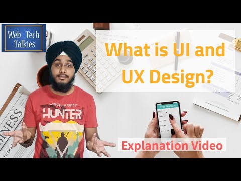 What is UI and UX design?🤔  Explanation Video [Hindi]