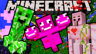 Minecraft 1.10 Snapshot: Nice Creeper, Riding Ghasts, Flying Squid, Pink Wither April Fools