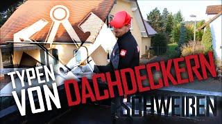 Dachdecker / 4 Arten von Schweißern!