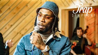 "Burna Boy Performs ""Ye"" With Live Orchestra 