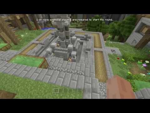 Minecraft: How to get to the old Mini Game lobby!!