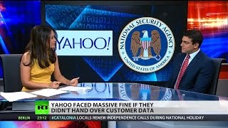 NSA threatened Yahoo! with $225,000 per day fine