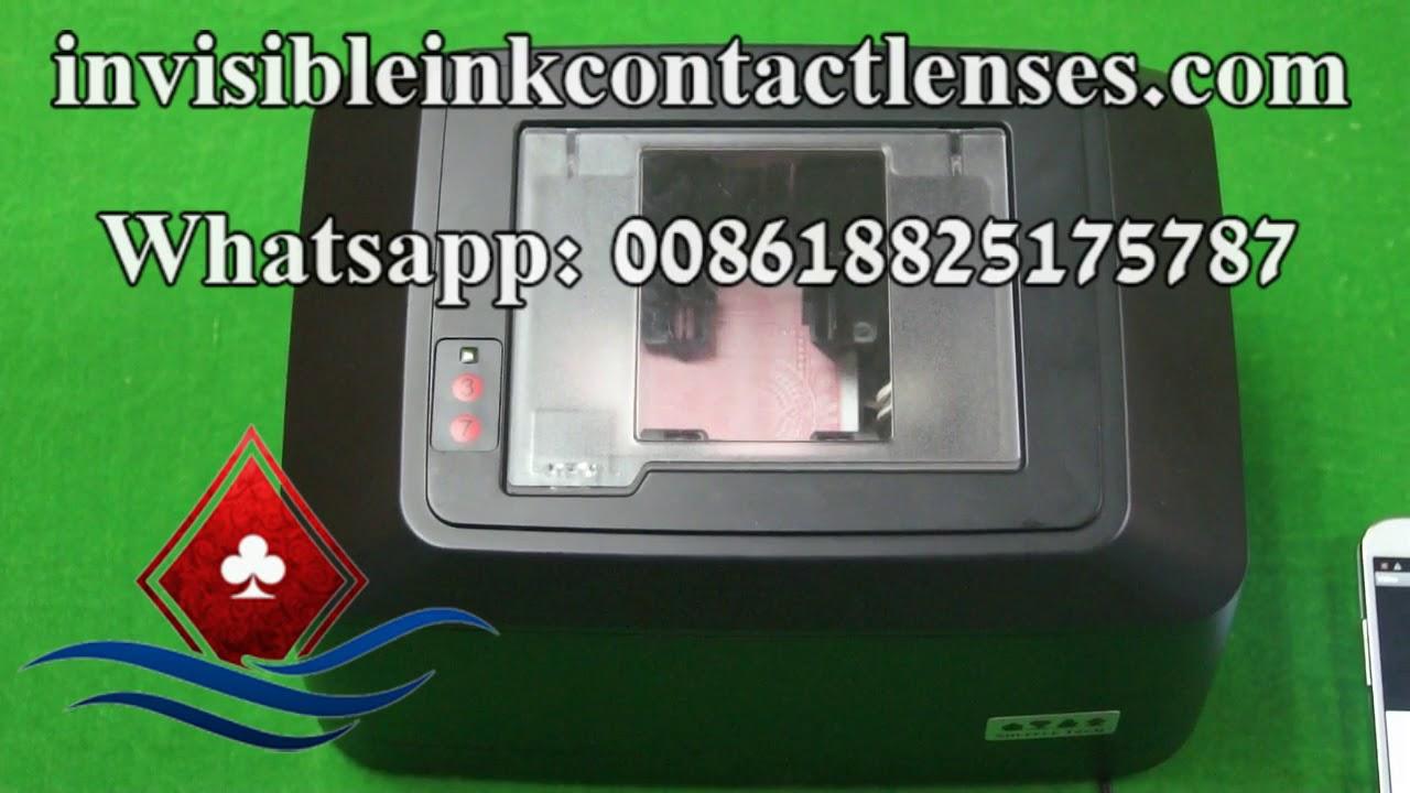 professional card shuffler machine camera for poker