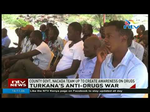 Turkana county government, Nacada team up to create awareness on drugs