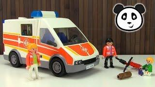 ⭕ Playmobil Krankenwagen - Spielzeug ausgepackt & angespielt - Pandido TV