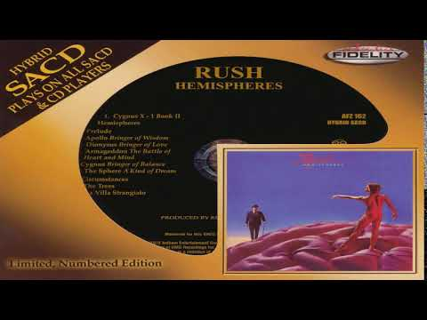 Rush - Hemispheres (SACD Remastered ltd) Full Album HQ