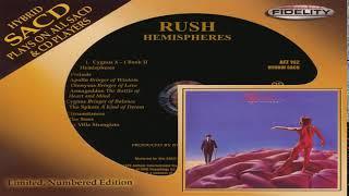 Rush - Hemispheres (SACD Remastered ltd) Full Album HQ
