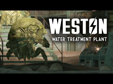 Weston Water Treatment Plant: Plus Supervisors White, Green, & Brown at Graygarden - Fallout 4 Lore