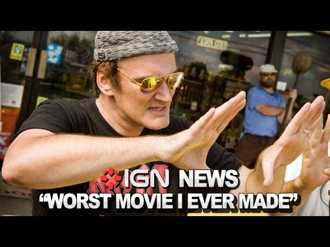"IGN News - Tarantino Calls Death Proof His ""Worst"" Film"