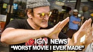 "IGN News - Tarantino Calls Death Proof His ""Worst"" Film"
