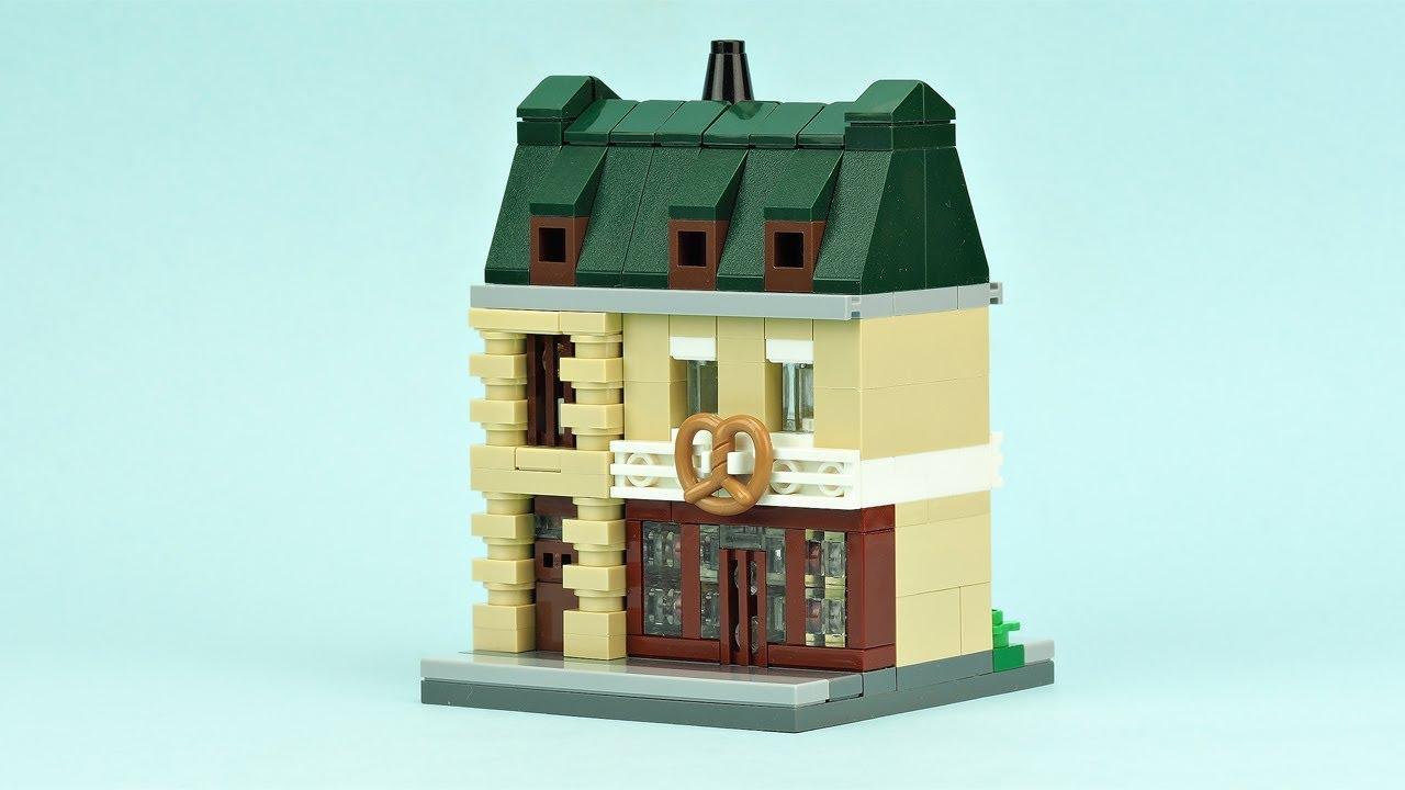 Lego Mini Bakery Moc Building Instructions Youtube