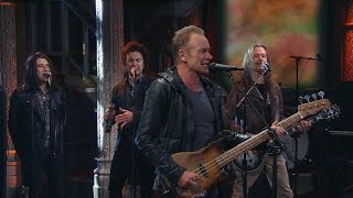 """Sting performs """"I Can"""