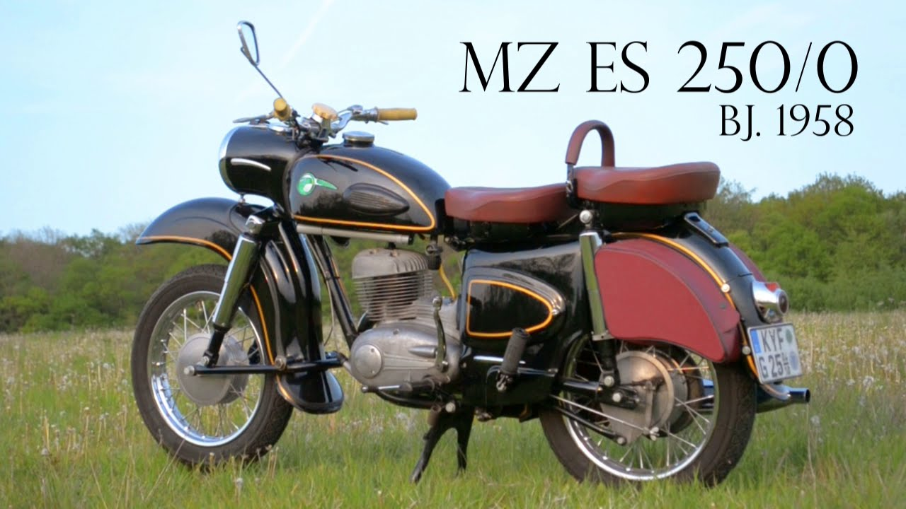 mz es 250 0 1958 youtube
