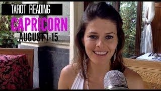 Capricorn Tarot Reading for Love, Money and Spiritual Growth from August 1-15, 2017