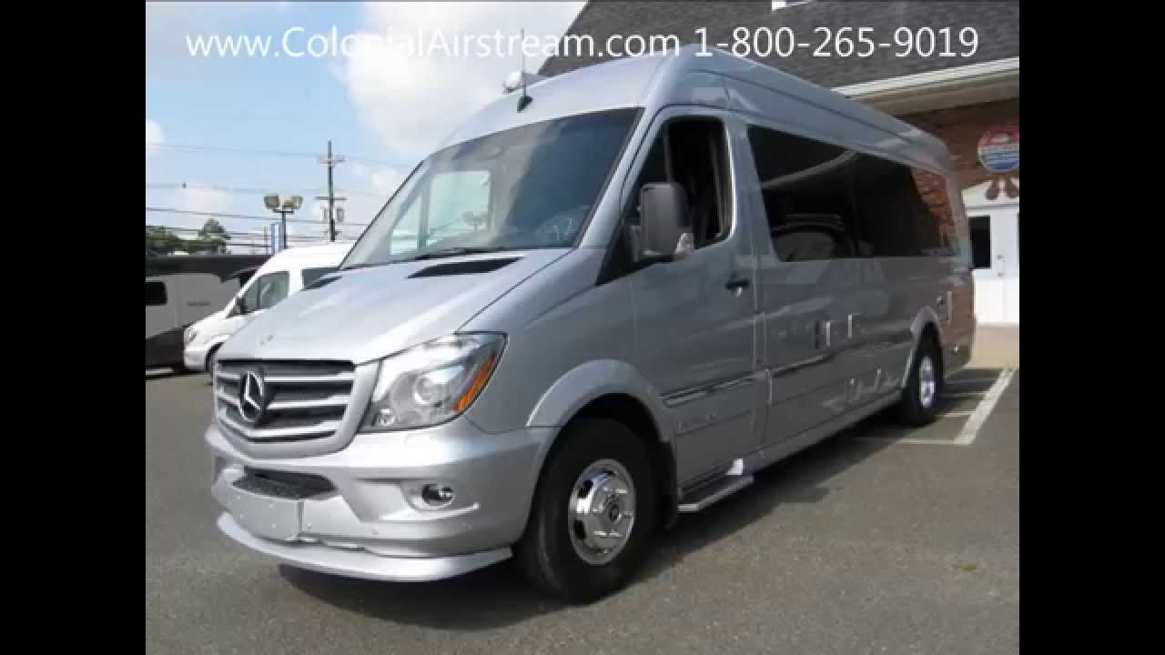 2016 airstream interstate grand tour twin mercedes benz for Mercedes benz conversion van