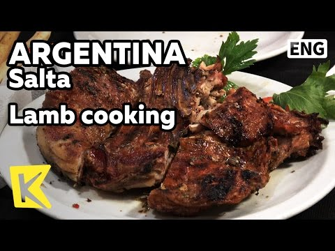【K】Argentina Travel-Salta[아르헨티나 여행-살타]살타의 자랑 양고기 요리/Lamb cooking/Fire pot/Steak/Restaurant
