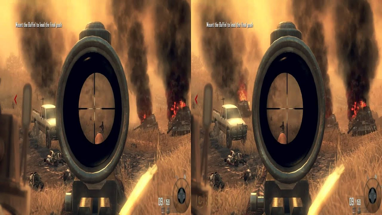 Stereoscopic 3d Gaming Computer: Call Of Duty: BLACK OPS 2 3D StereoScopic PC Gameplay