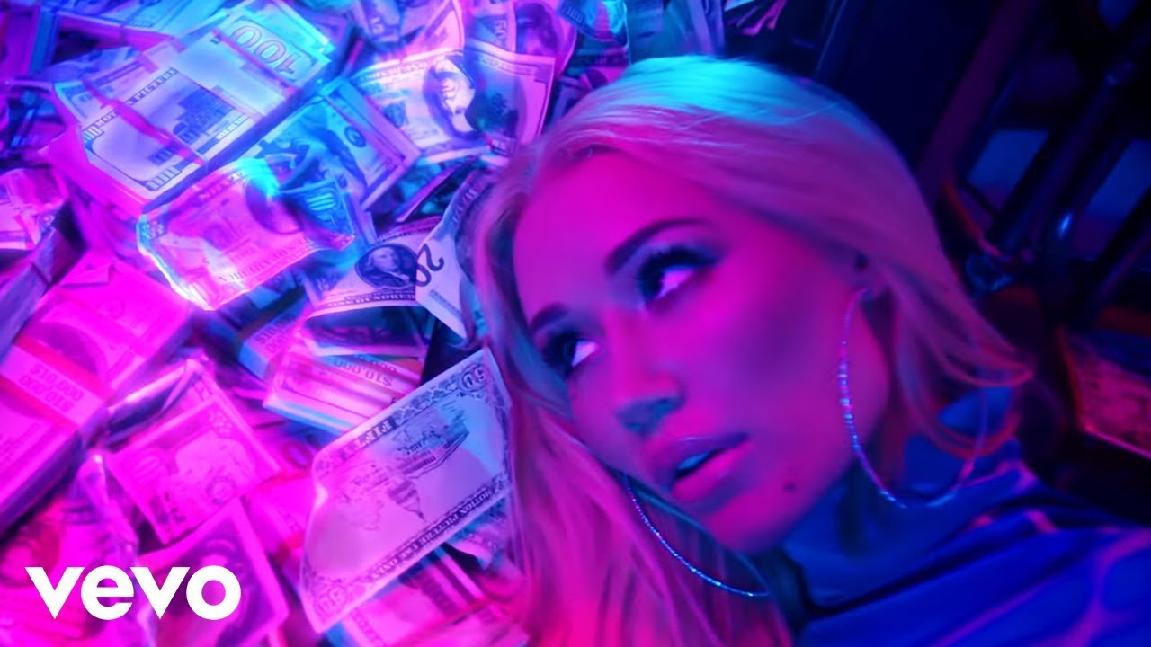 Iggy Azalea - Kream ft. Tyga (Official Music Video) image