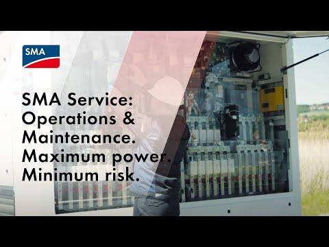 SMA Service: Operations & Maintenance. Maximum power. Minimum risk.
