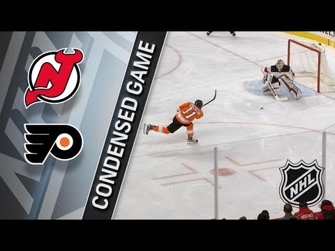 New Jersey Devils vs Philadelphia Flyers – Jan. 20, 2018 | Game Highlights | NHL 2017/18.Обзор матча