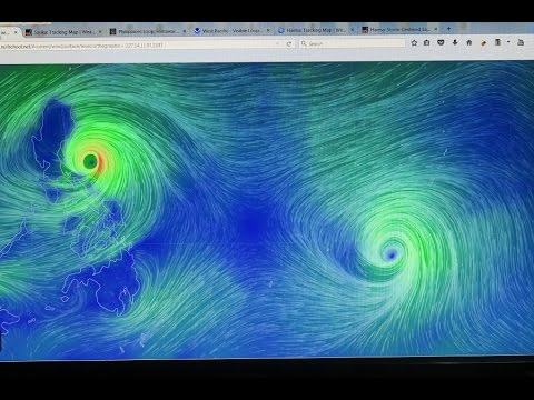 NEW!!  2 TYPHOONS KAREN AND HAIMA to Destroy much of Luzon Philippines!!