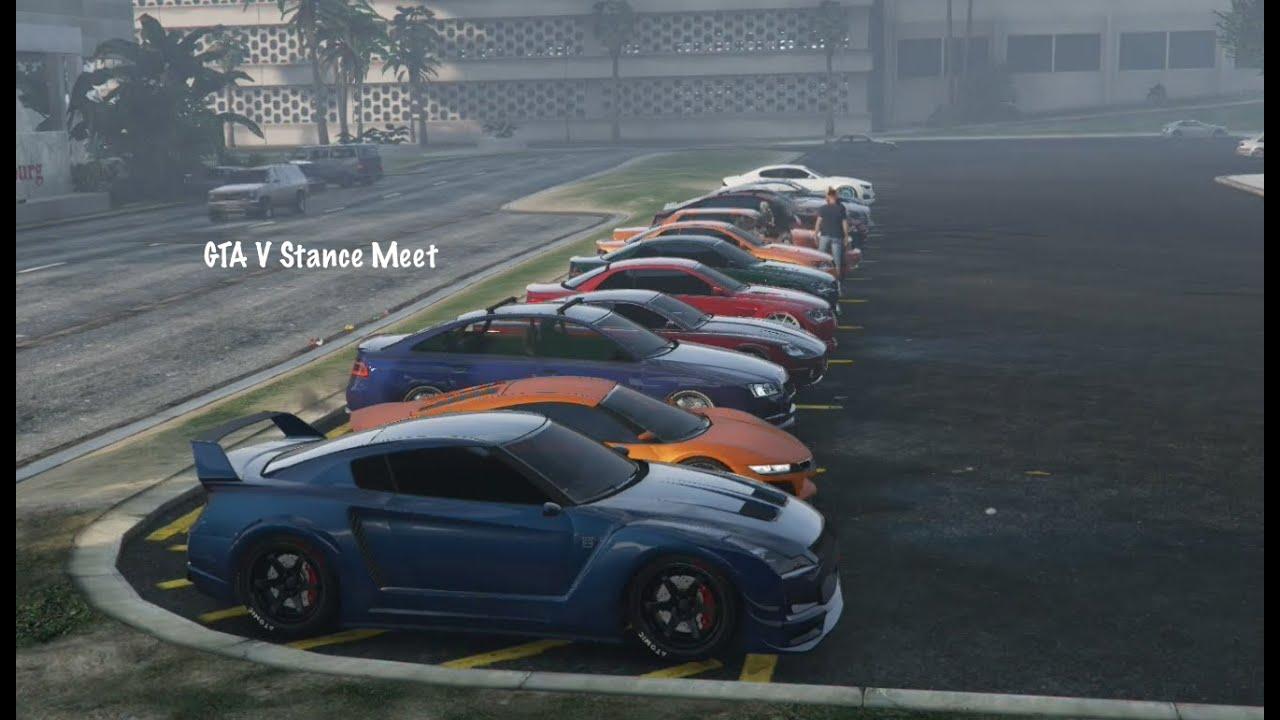 Gta V Stance Meet Car Show Hellaflush Jdm German Gta 5