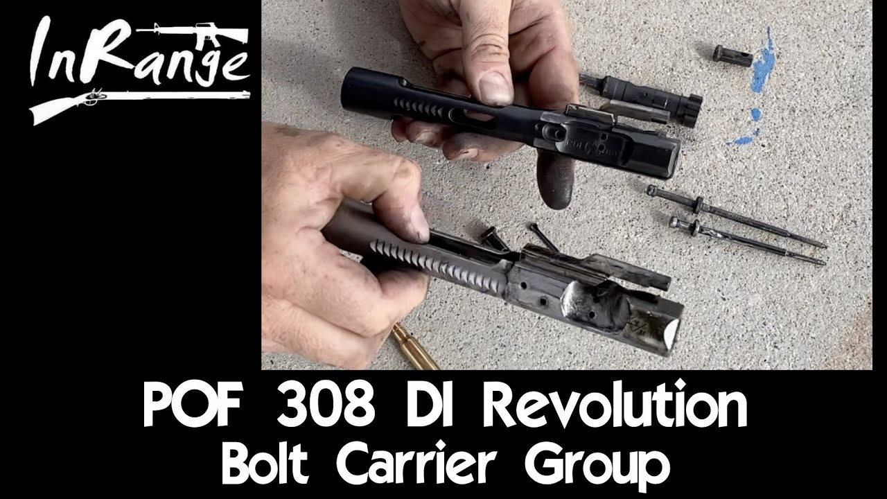 Patriot Ordnance Factory 308 DI Revolution - Bolt Carrier Group