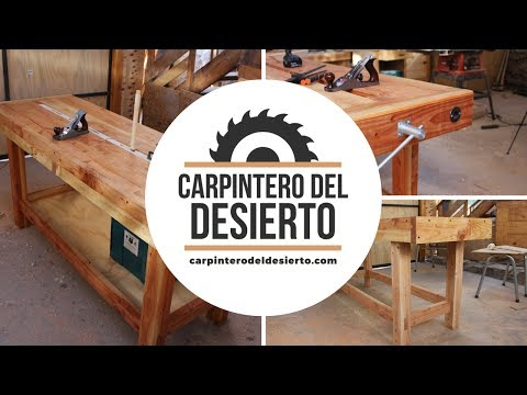 El Banco del Carpintero del Desierto - Workbench