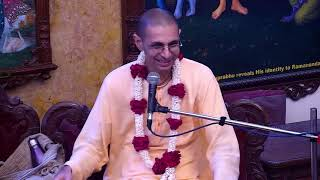 Damodar Prabhu Lecture on Srila Haridas Thakur Disapperance at ISKCON Chowpatty on 23rd Sep 2018