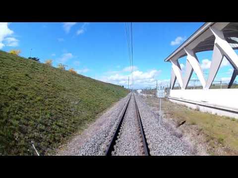 trajet Rhonexpress vers Lyon