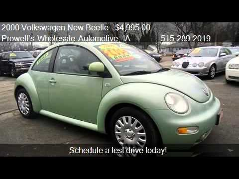 2000 Volkswagen New Beetle GLS for sale in Des Moines, IA 50